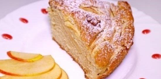 Вкусный яблочный пирог кулинарный рецепт