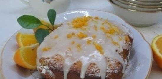 Апельсиновый кекс с цукатами кулинарный рецепт