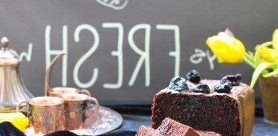 Бархатный шоколадный кекс с черносливом кулинарный рецепт
