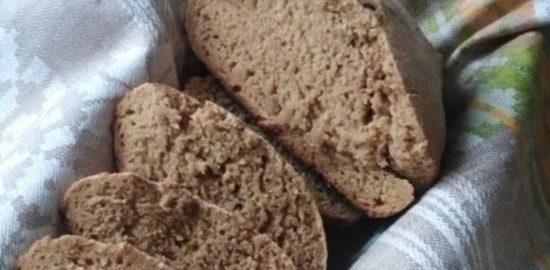 Домашний ржаной хлеб кулинарный рецепт