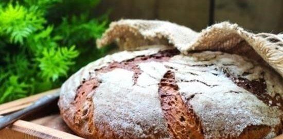 Картофельный хлеб на ржаной закваске кулинарный рецепт