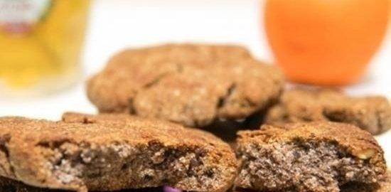 Кокосово-банановое протеиновое печенье для здорового питания кулинарный рецепт