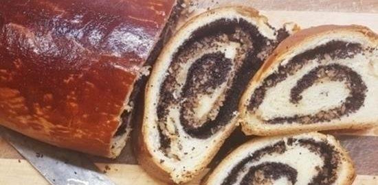 Маково-ореховый рулет кулинарный рецепт