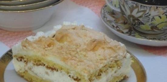 Норвежский торт кулинарный рецепт
