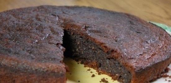 Орехово-шоколадный пирог кулинарный рецепт