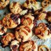 Печенье с карамелью и кусочками соленого брецеля кулинарный рецепт