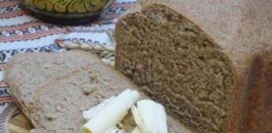 Пшенично-ржаной хлеб на красном вине кулинарный рецепт