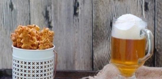 Сырно-луковые палочки кулинарный рецепт