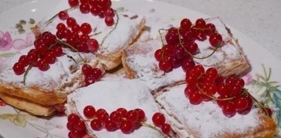 Быстрый «Наполеон» кулинарный рецепт