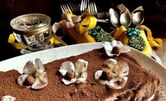 Кекс «Либераче» кулинарный рецепт