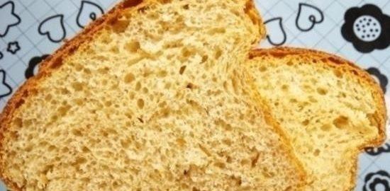 Хлеб на сыворотке с отрубями кулинарный рецепт
