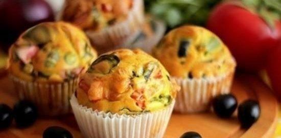 Овощные маффины «Импровизация» кулинарный рецепт