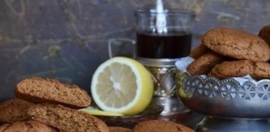 Овсяное печенье с гранолой кулинарный рецепт