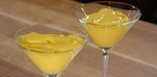 Панна котта из манго кулинарный рецепт