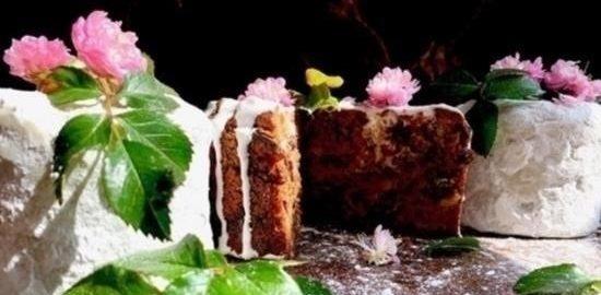 Пасхальный кекс «Франческа» кулинарный рецепт