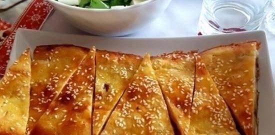 Творожный пирог с курицей и картошкой кулинарный рецепт