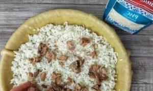 Галета с рисом и консервированным тунцом рецепт шаг 5