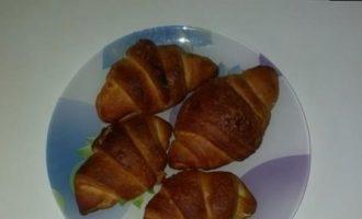 Круассаны с ананасом и апельсином кулинарный рецепт