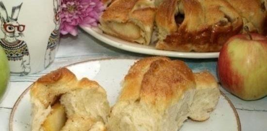 Отрывной яблочный пирог кулинарный рецепт