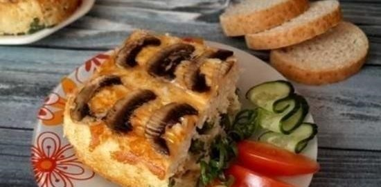 Пирог «Перевертыш» кулинарный рецепт