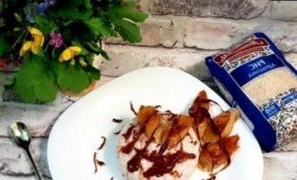 Рисовый пудинг на кокосовом молоке с карамелью кулинарный рецепт