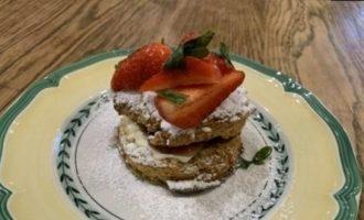 Сконы с клубникой кулинарный рецепт