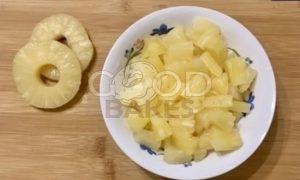 Сливочный тарт с ананасом рецепт шаг 4