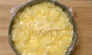 Сливочный тарт с ананасом рецепт шаг 6