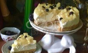 Сливочный тарт с ананасом рецепт шаг 7