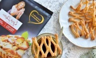 Слоеное печенье «Медовые соты» кулинарный рецепт