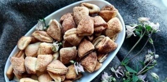 Творожное печенье кулинарный рецепт