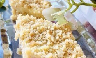 Жареный торт со сливочным кремом «Пломбир» кулинарный рецепт