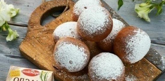 Берлинские пончики кулинарный рецепт