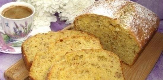 Миндально-цитрусовый кекс кулинарный рецепт