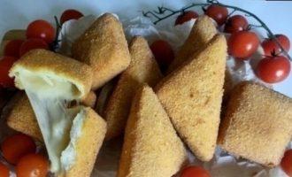 Моцарелла в кляре кулинарный рецепт