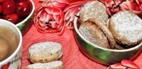 Ореховое печенье кулинарный рецепт