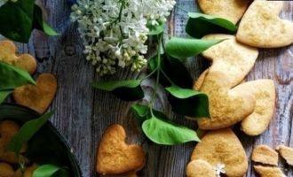 Печенье «Сердечки» кулинарный рецепт