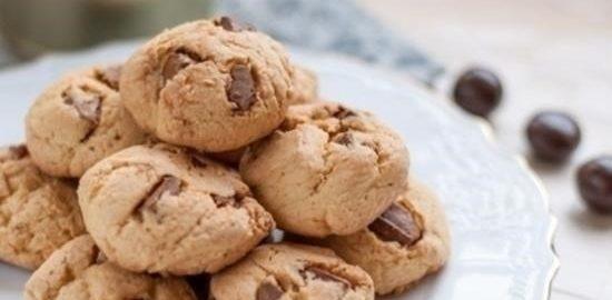 Шоколадное печенье в микроволновке кулинарный рецепт