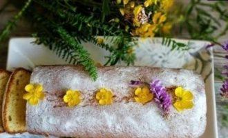 Творожный кекс кулинарный рецепт