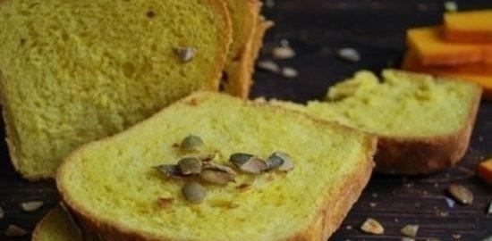Тыквенный хлеб кулинарный рецепт