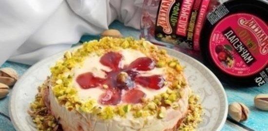 Воздушный десерт «Для самых любимых» кулинарный рецепт