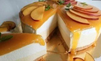 Чизкейк «Нектарин» кулинарный рецепт