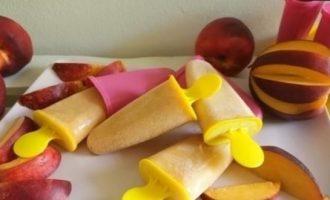 Фруктовый лед «Нектарин» кулинарный рецепт