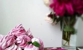 Ягодный зефир на альбумине кулинарный рецепт
