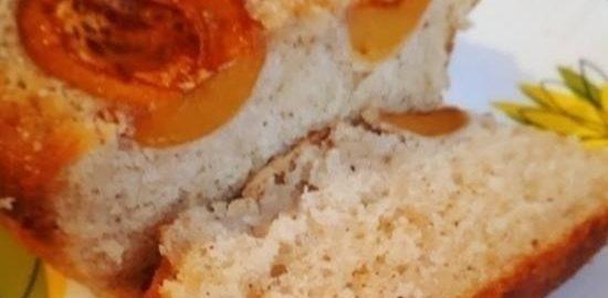 Кекс с абрикосами кулинарный рецепт