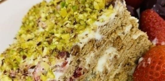 Летний торт без выпекания кулинарный рецепт