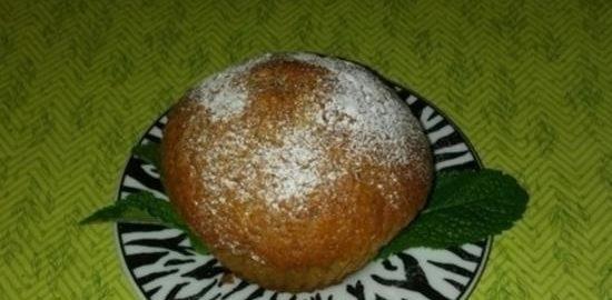 Маффины с яблоком и коньяком кулинарный рецепт