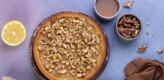 Медово-ореховый тарт кулинарный рецепт