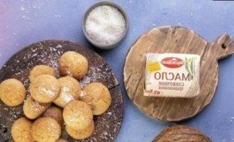 Мягкое кокосовое печенье кулинарный рецепт