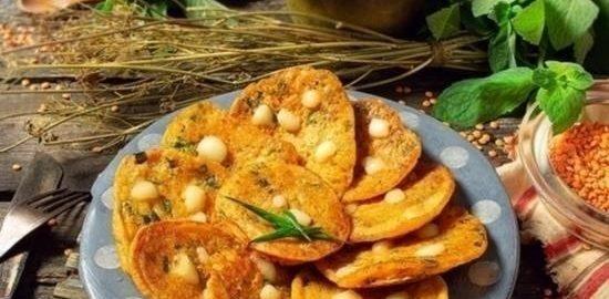 Оладьи из чечевицы кулинарный рецепт